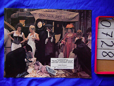 Carry On Dick Original Movie Film Lobby Card Poster 1974 British Comedy S. James
