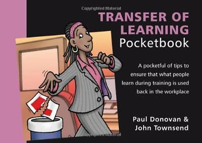 Transfer of Learning Pocketbook by John Townsend, Paul Donovan | Paperback Book
