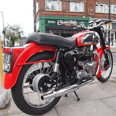 1962 BSA A10 Super Rocket Classic Vintage Rare Extremely Attractive Motorcycle.