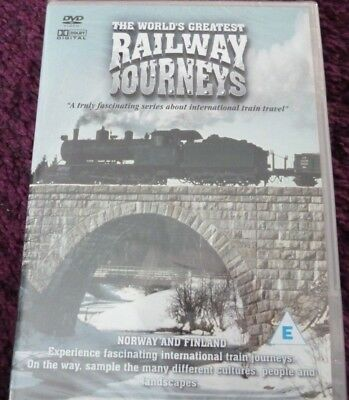 The World's Greatest Railway Journeys Norway And Finland*dvd*new & Sealed
