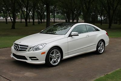 Mercedes-Benz E 550 Coupe E550 Coupe 1 Owner MSRP $68950 1 Owner Perfect Carfax Michelin Tires P02 Pkg MSRP New $68950