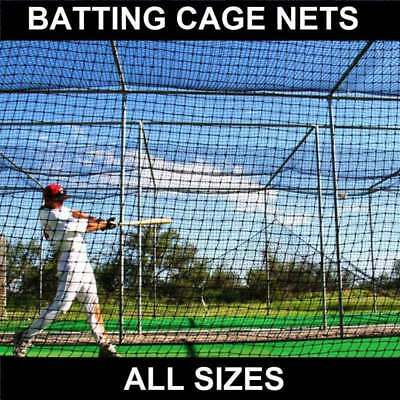 Baseball Batting Cage Nets [14 Sizes] | Heavy Duty HDPP Baseball Softball Net