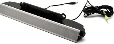 Dell AS501 Flat Panel LCD Monitor Sound Bar Speaker