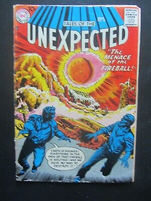 TALES OF THE UNEXPECTED #19 vg  DC Comics early 10 cent Silver Age 1 book lot