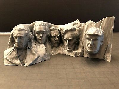 Donald Trump Mount Rushmore 3D Printed