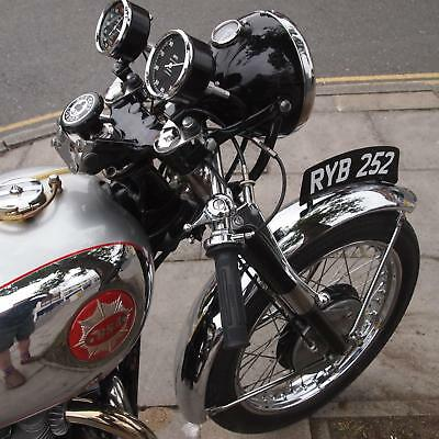 1954 BSA A10R Super Rocket Engined Gold Star Replica Classic Vintage Cafe Racer.