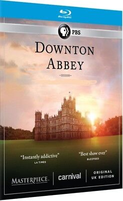Downton Abbey - Seasons 1 & 2 (Blu-ray, 5-Disc Set) NEW