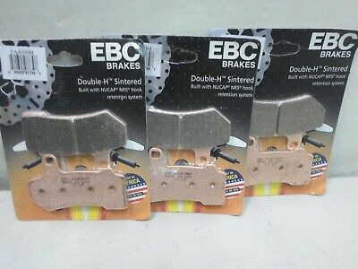 EBC Sintered Brake Pads - FA409HH - 3 Pair - for Harley Davidson