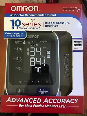 Omron 10 Series Wireless Bluetooth Upper Arm Blood Pressure Monitor with 2 User