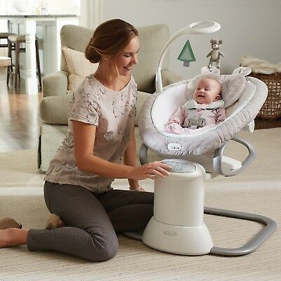Graco Baby EveryWay Multi Use Swing Soother Removable Rocker Bouncer