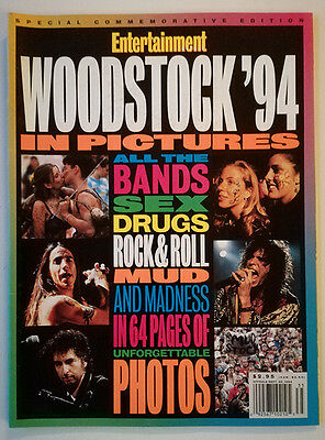 WOODSTOCK '94 Entertainment Weekly special magazine sep 1994