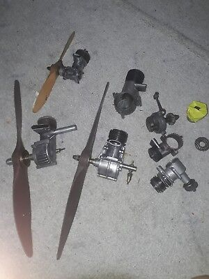 Great Antique Vintage Barn Find Collection Of Usa Model Aeroplane Engines