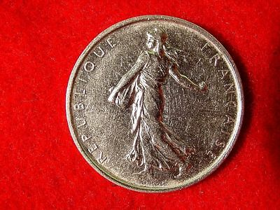 1964 France 5 Francs 83.5% Silver Foreign Coin FREE S/H After 1st Item