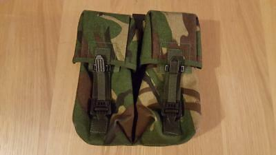 Genuine Issue British Army Plce Dpm Camo Double Ammo Pouch
