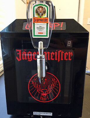 Jagermeister Jemus 3 Bottle Chilled Tap Machine And Shot Dispenser Bar Jager