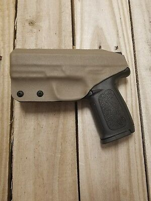 S&W SD9VE/SD40VE CONCEALMENT Flat Dark Eart FDE Kydex IWB holster right  handed