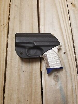 TAGUA BLACK BROWN Leather Right Hand BACK POCKET Holster