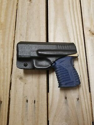 Concealment Springfield XDS 3.3 IWB Black KYDEX Holster Right Hand