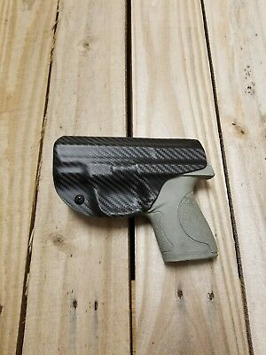 Concealment Smith & Wesson M&P SHIELD 9/40 IWB Carbon Fiber Black KYDEX Holster