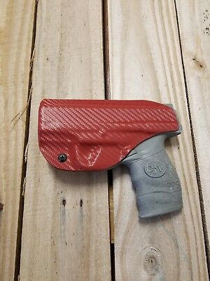 Concealment Red Carbon Fiber Walther PPS M2 9mm/.40 IWB Kydex Holster Right