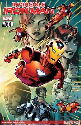 Marvel INVINCIBLE IRON MAN #600 Comic Book with Digital Content FIRST PRINTING