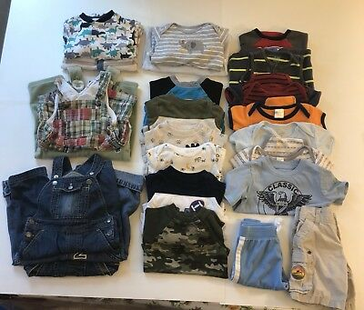 baby boy clothes 6-9 months, lot of 25 Pieces.