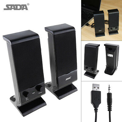 SADA V-112 Portable Mini Subwoofer Computer Speaker for Desktop PC Laptop Phone