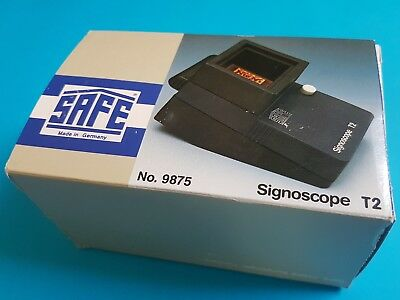 Safe - Signoscope T2 Watermark Detector - Portable *** NEW****