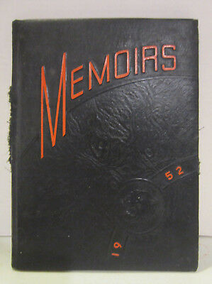 1952 JACKSON TOWNSHIP School Yearbook Hoytville Oh - $38 95