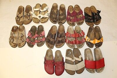Birkenstock Lot Wholesale Used Shoes Sandals Rehab Resale Collection aJf