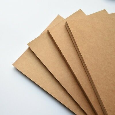 Bulk 20pc or either A4 or A5 280gsm KRAFT CARDSTOCK Brown Kraft Card making