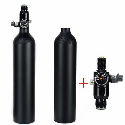 4500psi 0.5L Paintball Cylinder Tank High Compressed Air Bottle With Regulator
