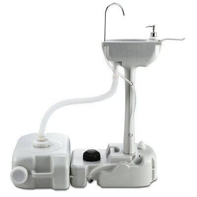 NEW Camping Outdoor Handwash Sink Basin W/ 19L Water Tank Portable Market Event