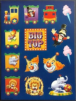 Vintage Stickers - Circus - Mint Condition!!