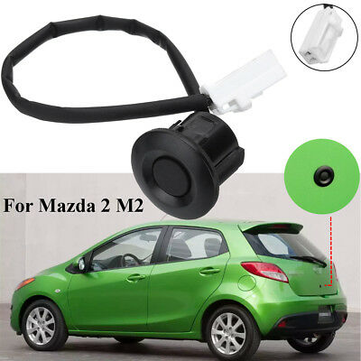 Trunk Door Liftgate Luggage Lock Push Button Release Switch Black For Mazda 2 M2