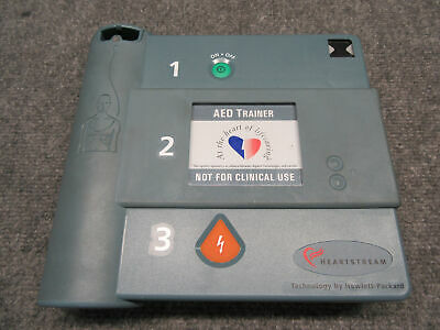 Hewlett-Packard Heartstream AED Trainer Module with Case *Not For Clinical Use*