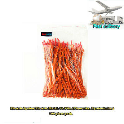 Electric Igniter Match 39.37in Fireworks Igniter 100pcs/lot For firing system