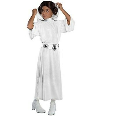 Rubie´s Star Wars Costume, Kids Deluxe Princess Leia Outfit, Small, Age 3 - 4