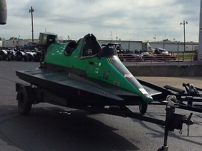 1996 BABY BULLET RACING BOAT HYDROPLANE 40S,50S 13f long Monster Energy Fast