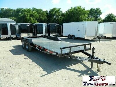 83 x 20 20ft Construction Farm Equipment Heavy Tractor Utility Cargo Trailer DFW