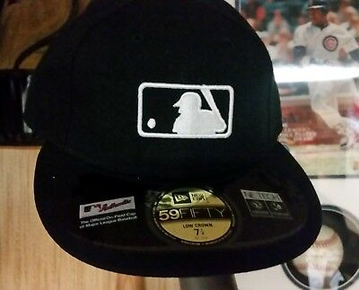 NEW ERA MLB Umpires Hat ~ Official On Field Cap ~ Fitted Size 7 1 4 ... d59962b886f5