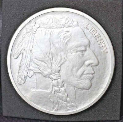 1 Oz Silver Buffalo Round .999 One Troy Oz Of .999 Fine Silver!!! Invest Today!!