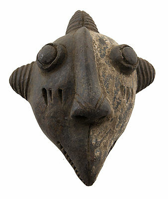 Mask African Passport Miniature Divination Fetish Zoomorphic 6476 B4MB