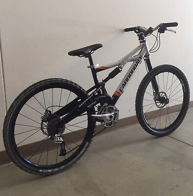 Cannondale Prophet Mountain Bike Full Suspension 26 590 00