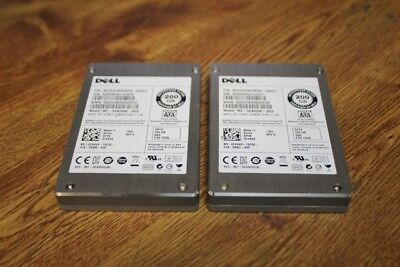 "LOT OF 2 Dell 200GB 3G 2.5"" SATA SSD Solid State Hard Drives 24XV8"