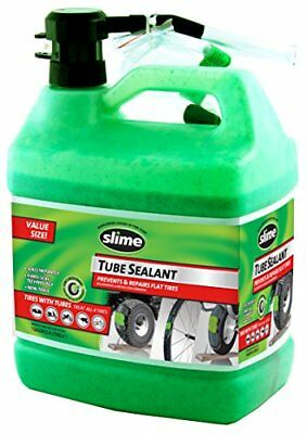 Tube Tire Sealant 1 Gallon Prevents/Repairs Flat Tires Non-Toxic Water-Soluble