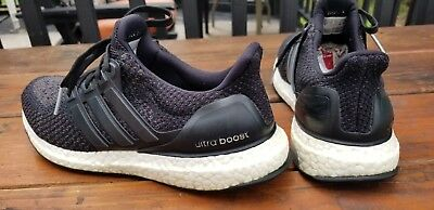 b9ba7dda5 Adidas Originals Ultra Boost 2.0 Core Black 2016 BB3910 Women s Sz 9 Men s  Sz 8