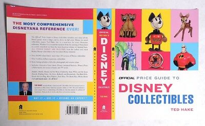 P093. Official Price Guide to DISNEY COLLECTIBLES COVER PROOF Ted Hake (2005)