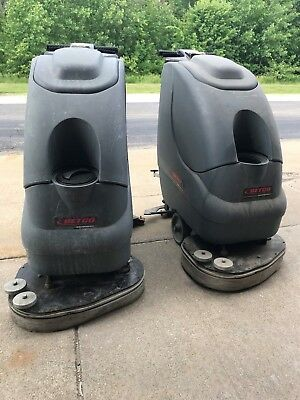 Betco Auto Floor Scrubbers- Crewman AS20B- selling both for $400