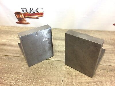 Pair Of Angle Plates 3 3/4 X 3 3/4 X 3 ""
